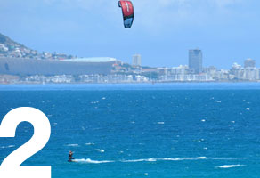 Cheap refresher kitesurfing lessons Cape Town