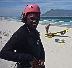 Kitesurfing travel Africa