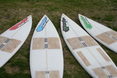 Ideal wave kitesurfing board