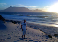 Kitesurfing travel South Africa