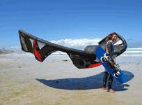Kitesurfing holidays South Africa