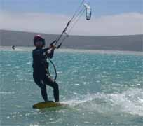 Kitesurfing travel