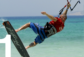 advanced kitesurfing school
