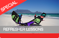 Refresher Kitesurfing Lessons