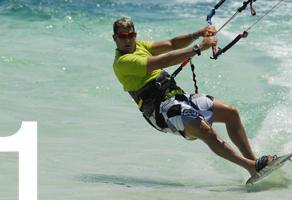 kitesurfing learn jump