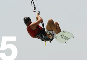 learn jumping kitesurfing