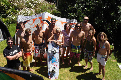 Team Kitesurfing Cape Town