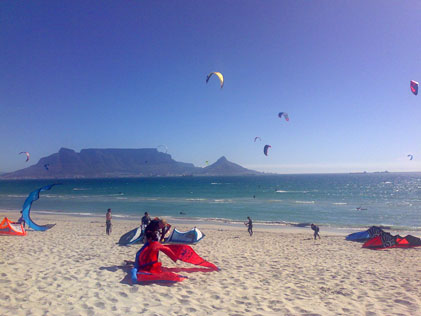 Kitesurfing vacation South Africa