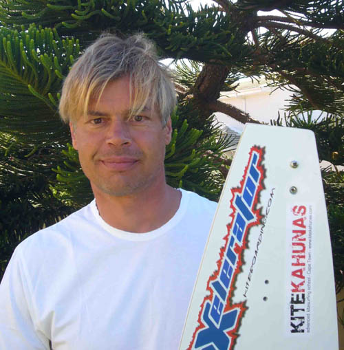 Wolfram Reiners - Outright Speed Sailing Record and Kitesurfing Record