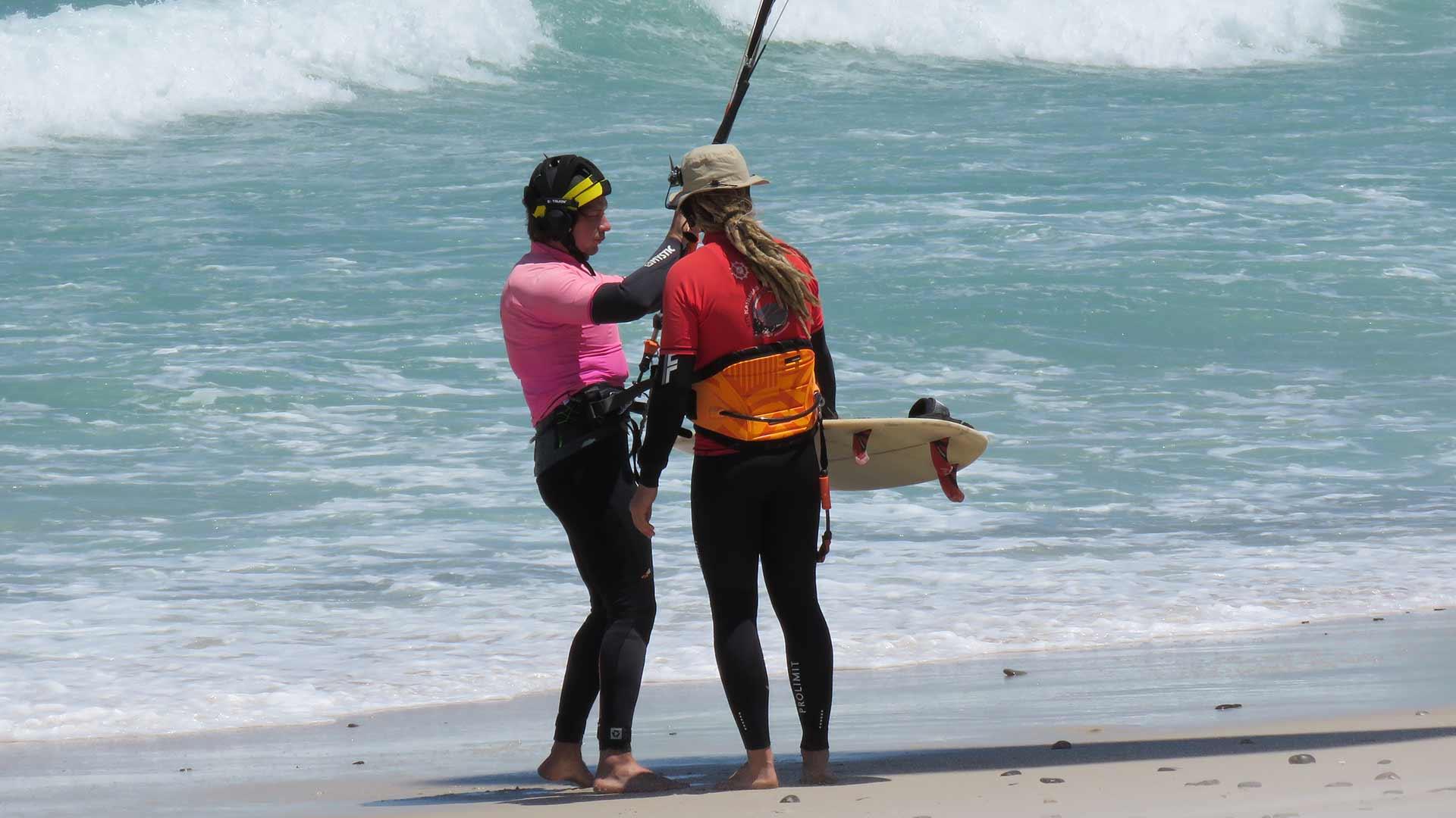 kitesurfing course beginner