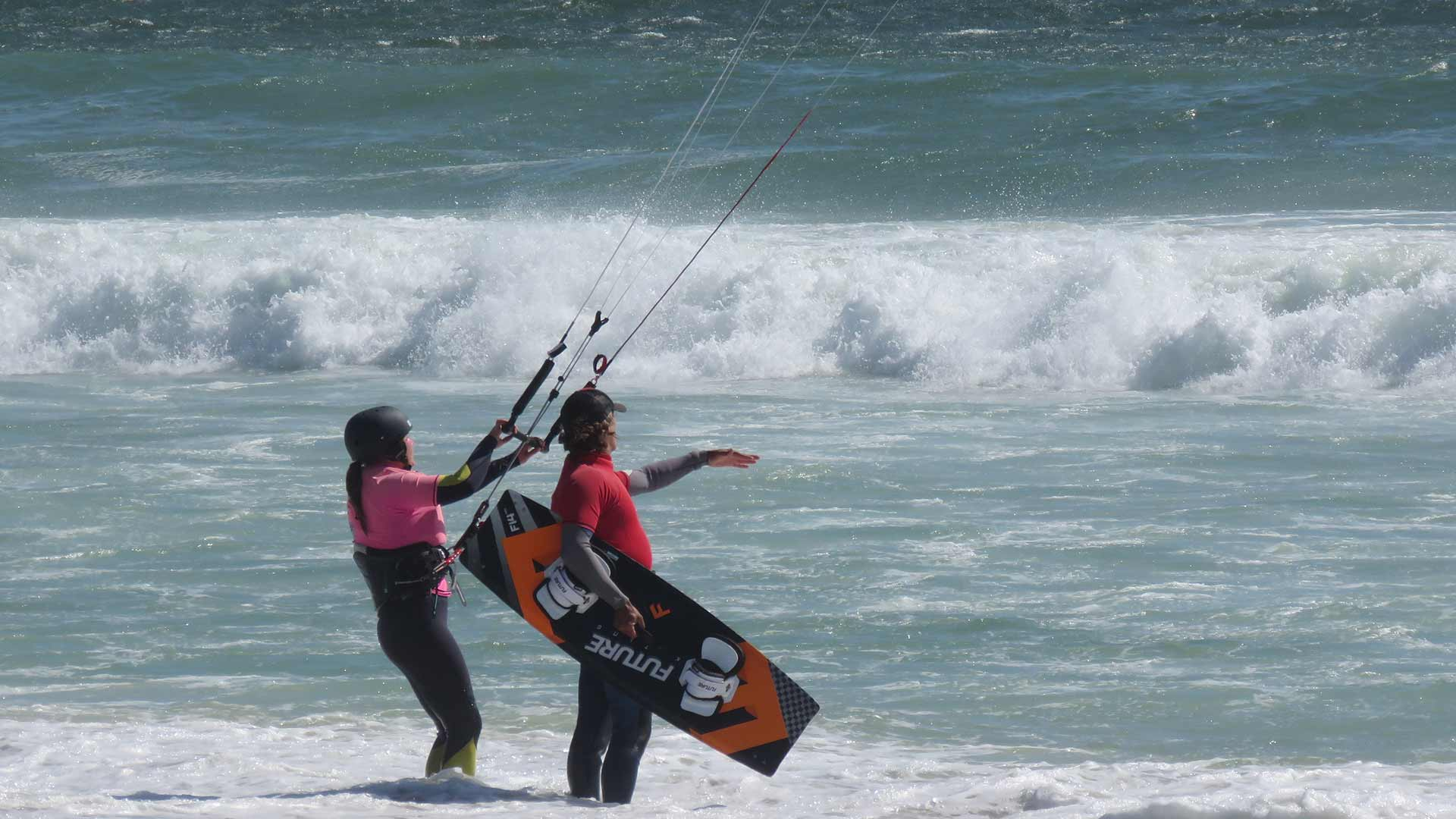 lessons kite surfing