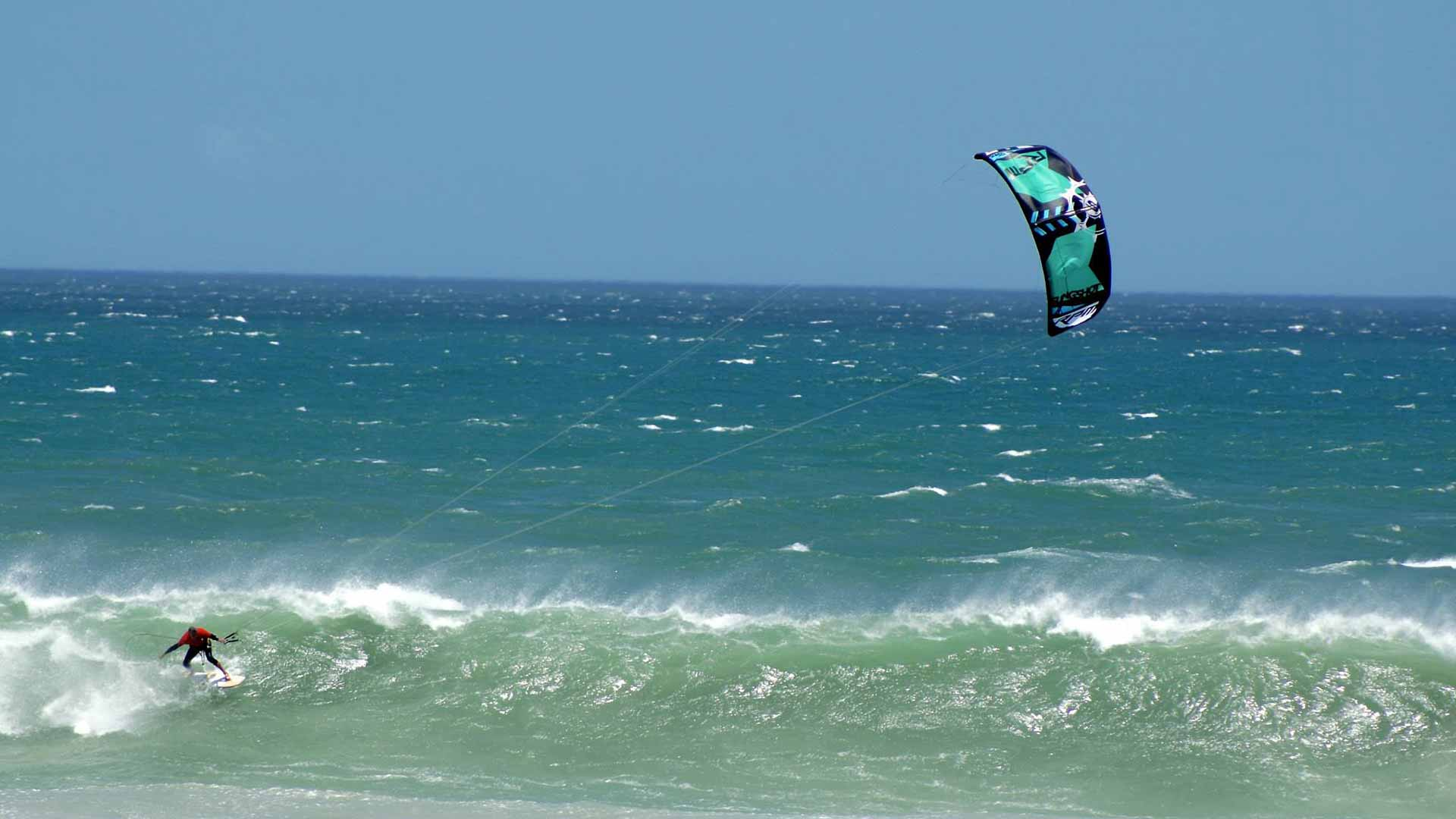 wave kitesurfing lessons