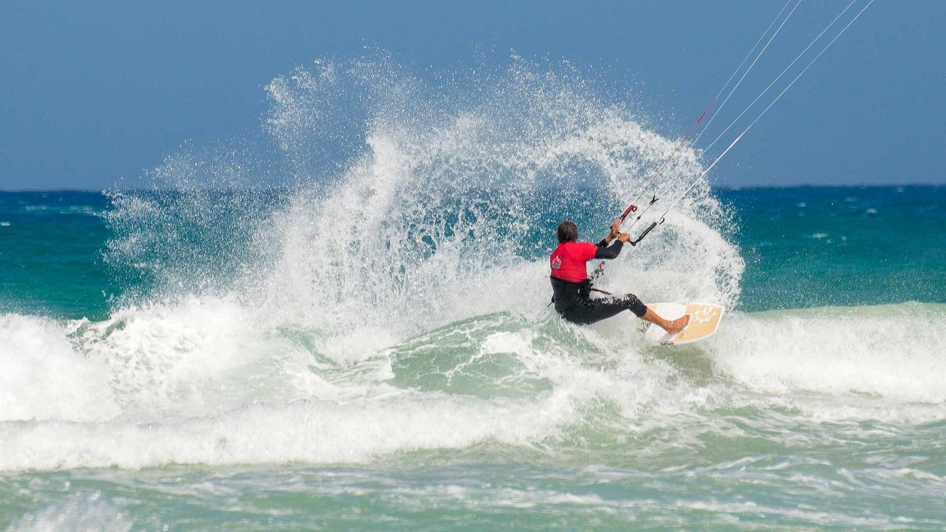 wave kitesurfing camp cape town