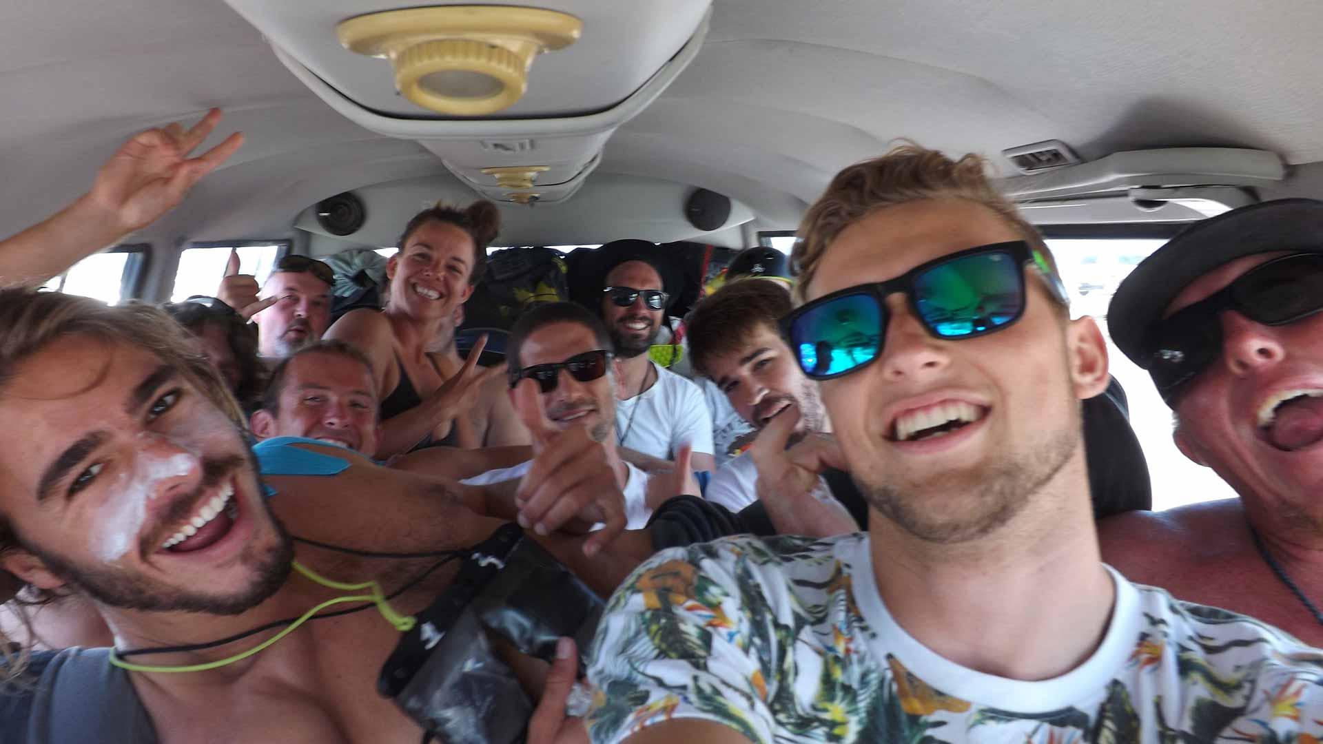 wave kitesurfing holiday