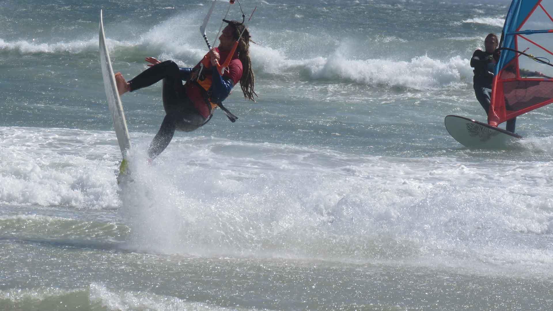 wave kitesurf camp