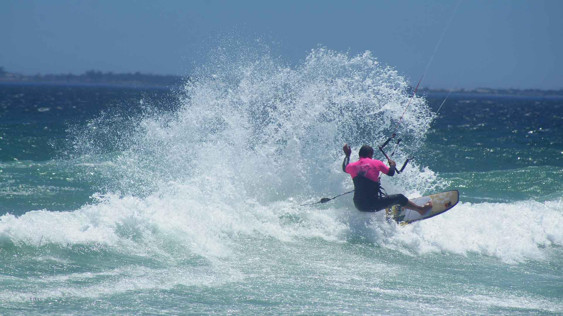 best waves kitesurfing south africa