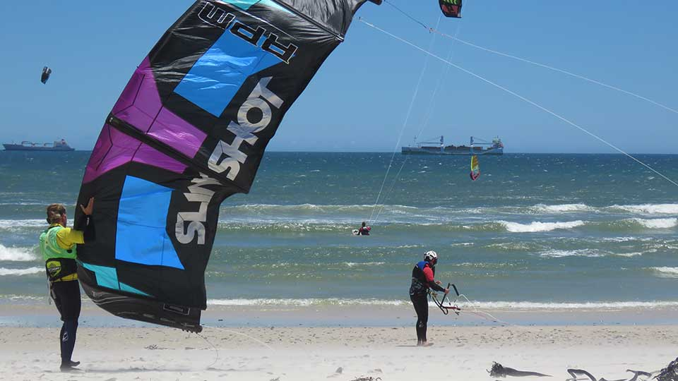 kitesurfing course learn