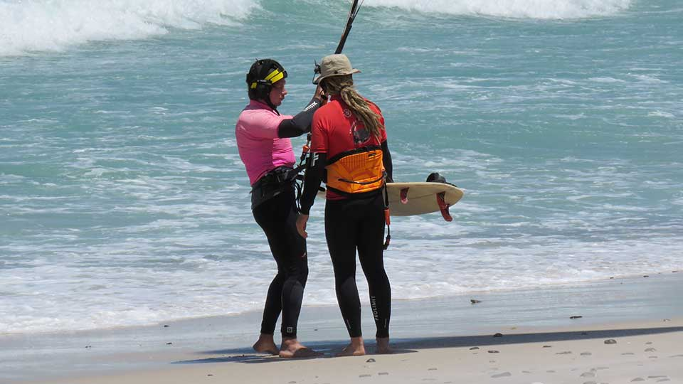 kitesurfing course beginner