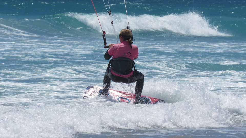 kitesurfing instruction