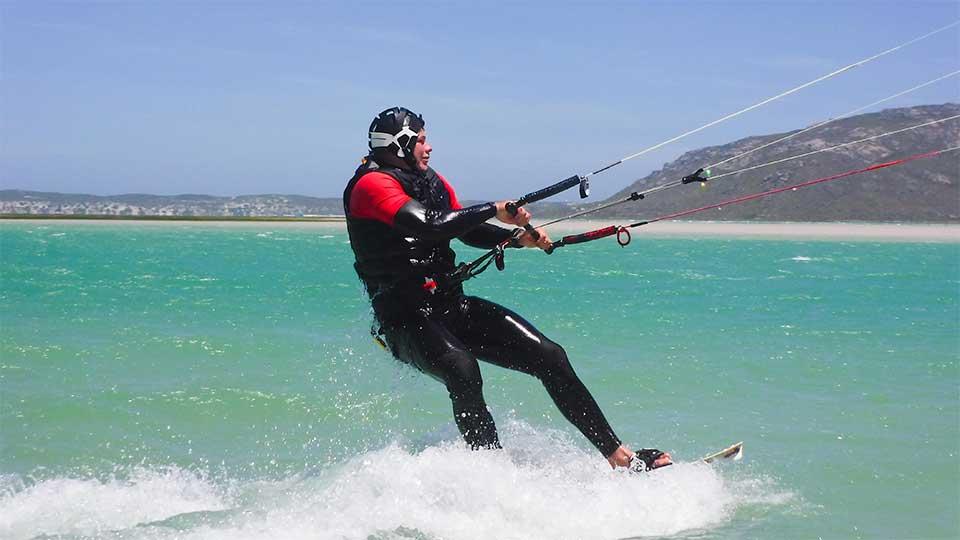 kitesurfing lessons Cape