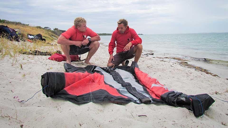 kitesurfing lessons Capetown