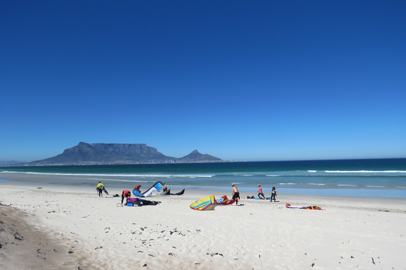 kitesurfing accommodation southafrica