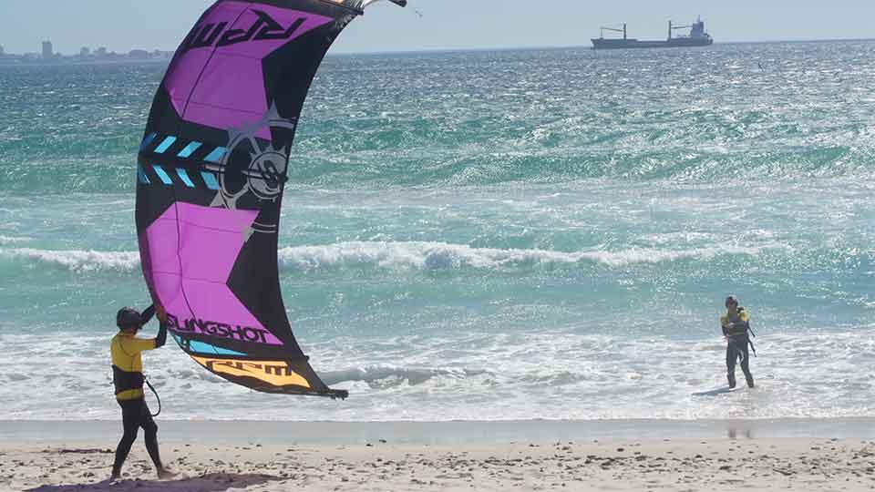 learn kitesurfing capetown