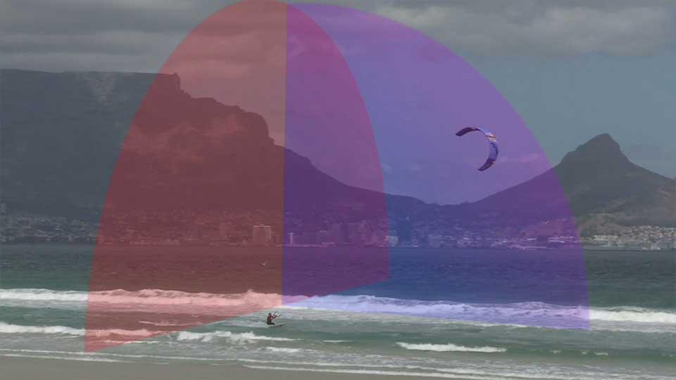 wind window wave kitesurfing blouberg