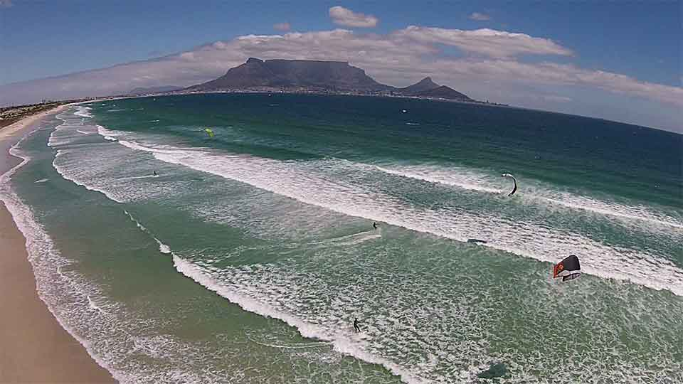 wave kitesurfing learn cape town