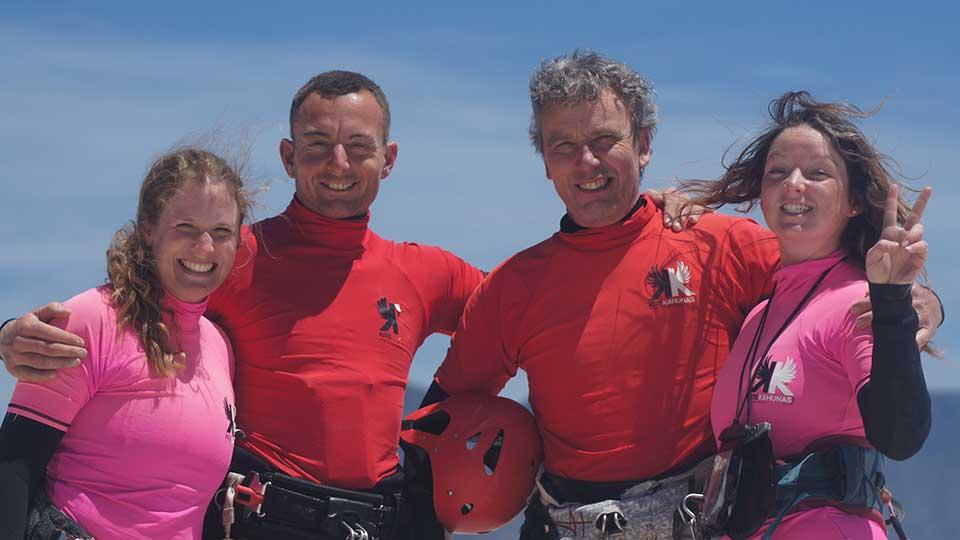 learn wave kitesurfing
