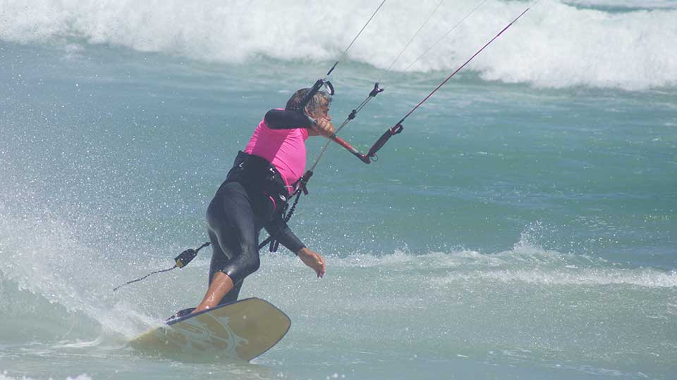 wave kitesurf camp blouberg