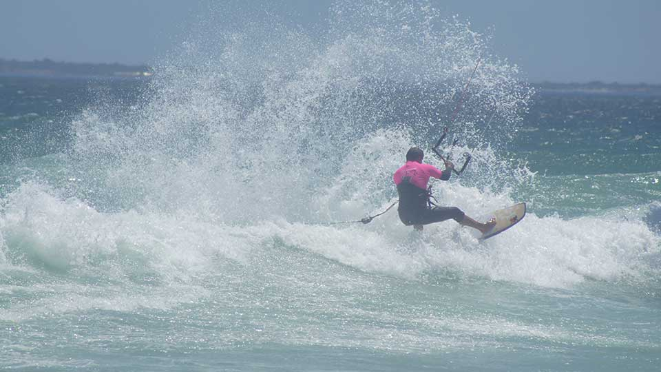 wave kitesurf camp south africa