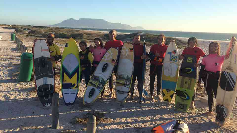 wave kitesurfing Capetown