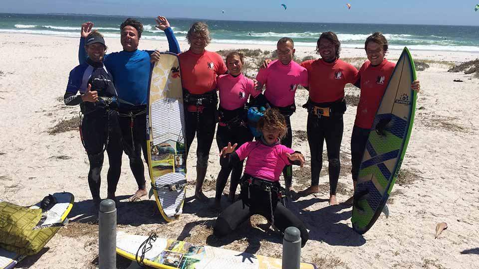 wave kitesurfing Cape Town