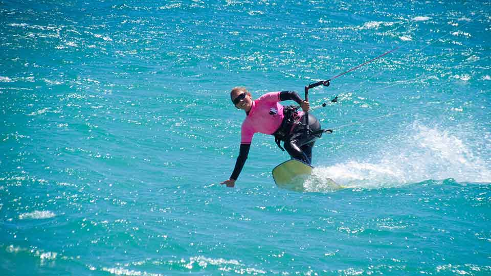 wave kitesurfing course Cape Town lessons