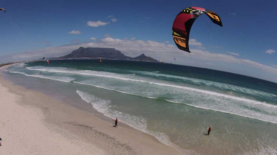 lessons wave kitesurfing school