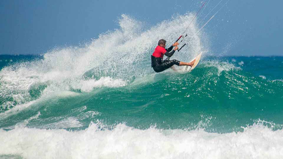 wave kitesurfing lesson cape town