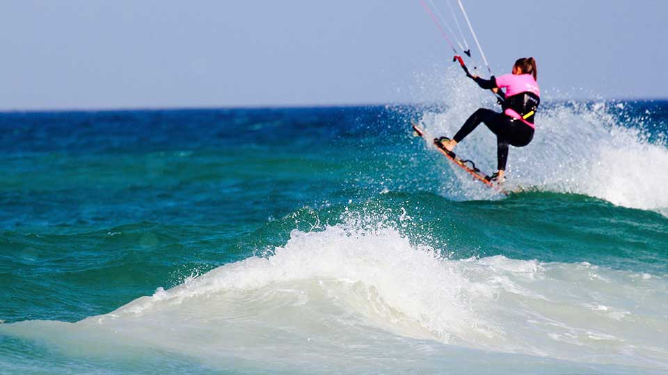 best wave kitesurfing school cape town