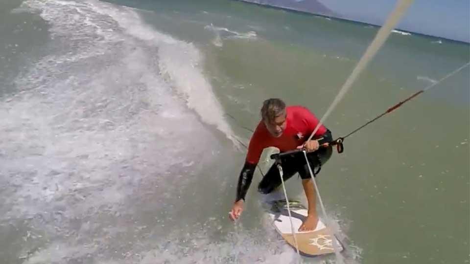 wave kitesurfing school Cape Town